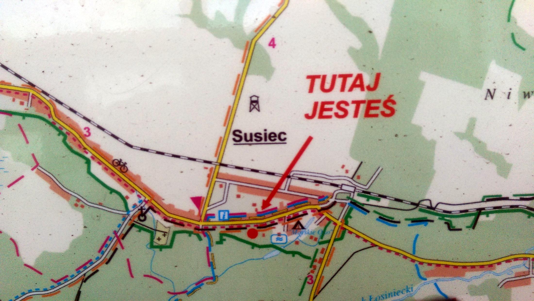 Susiec Mapa